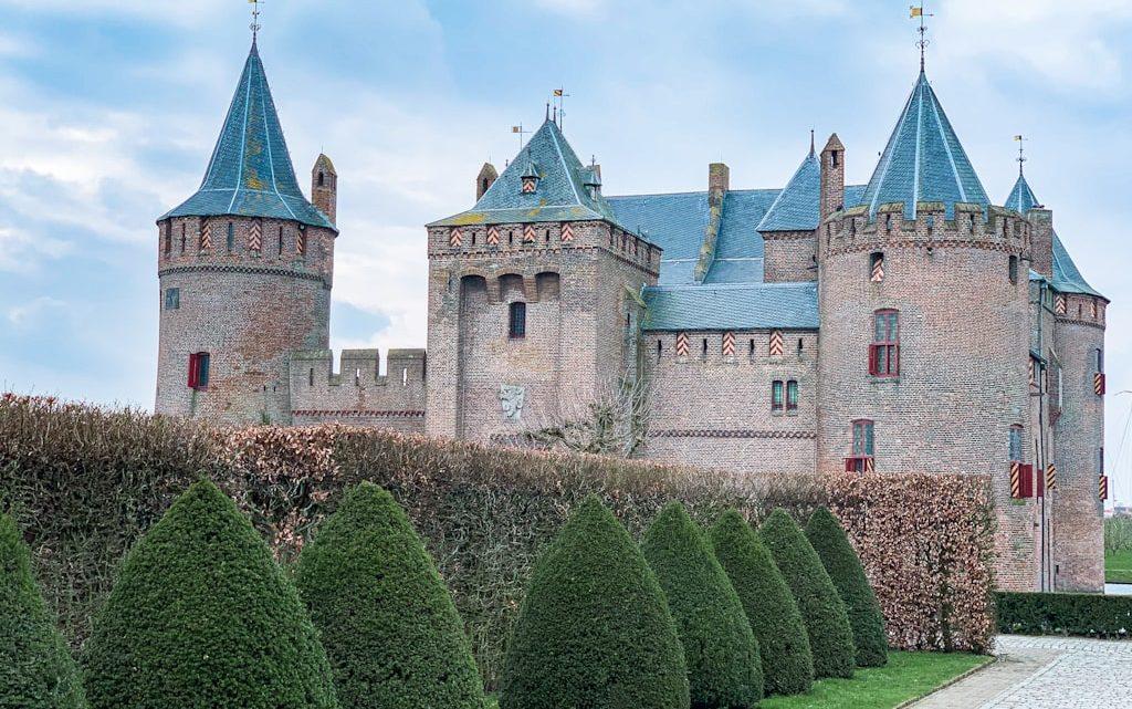Castelo na Holanda: Muiderslot Castle em Amsterdam