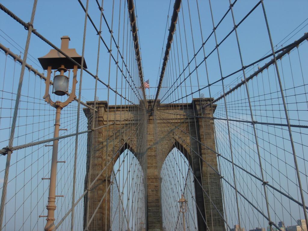 Nova York Brooklyn bridge ponte