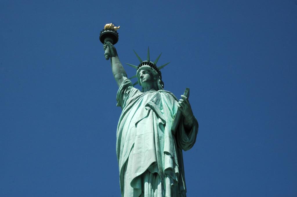 Nova York estatua da liberdade