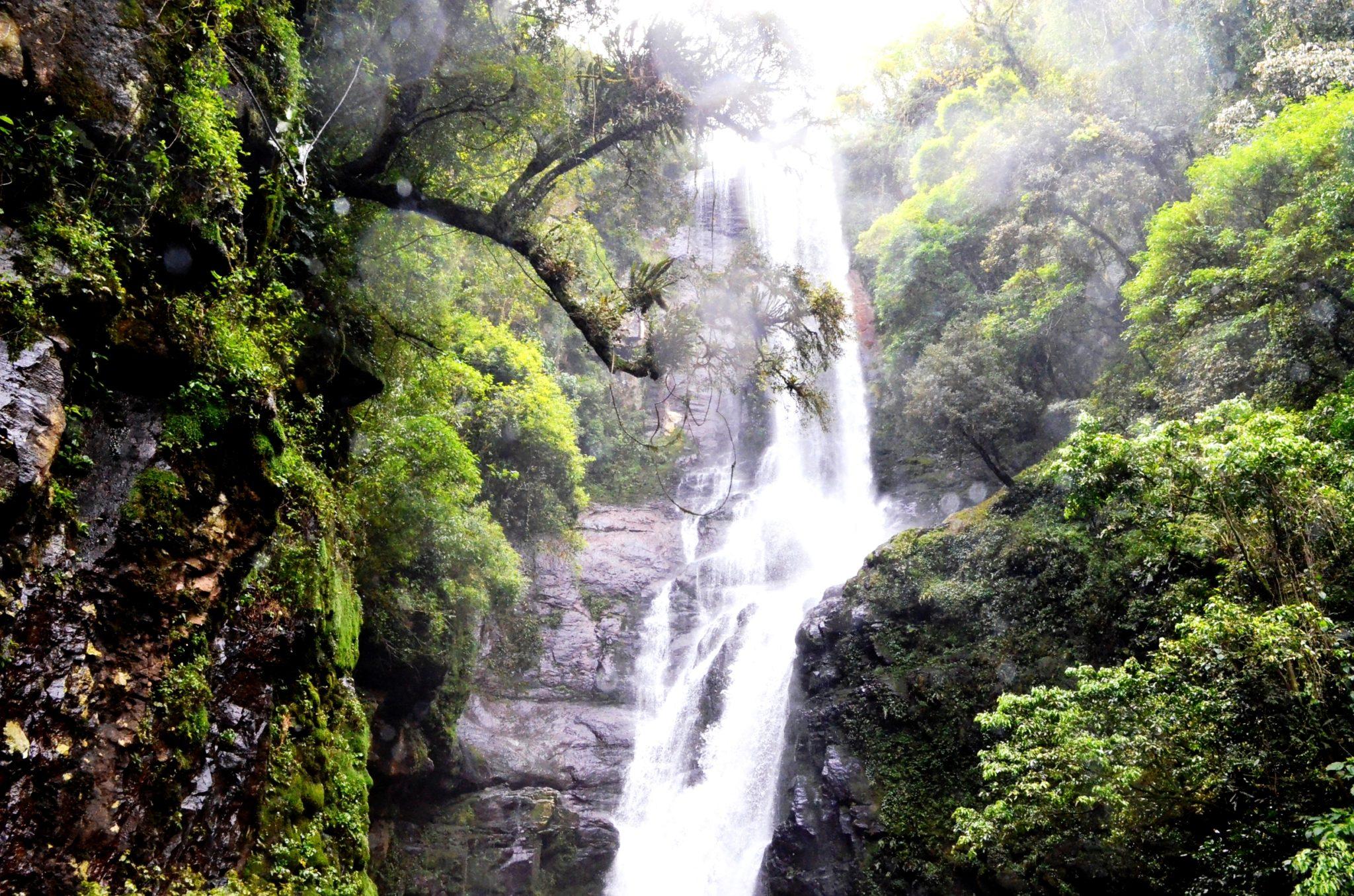 Parque das 8 Cachoeiras em São Francisco de Paula