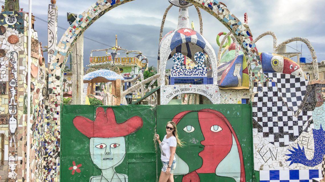 Fusterlandia: uma Obra-Prima de Cuba feita em Mosaico